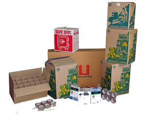 Packing Materials for Moving Home or Office